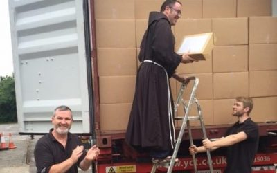 Specialist Removals Kent – Moving a Franciscan Library