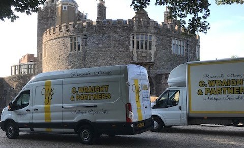 Moving Historic Furniture for Lord Boyce at Walmer Castle
